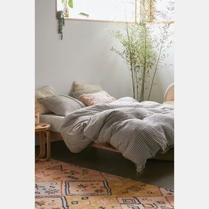 Urban Outfitters Derby Textured Jersey Duvet